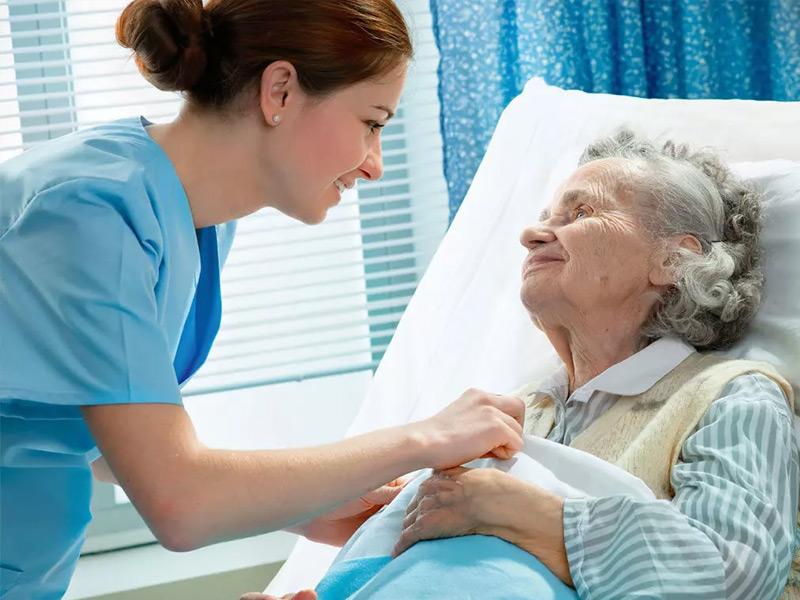 Yatağa Bağlı Hastanın Bakımı